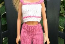 knitted barbie clothes