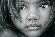 Art - Drawing - Portrait / by CHRISTO Philo