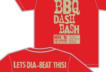 Alpha Gamma Delta - University of Memphis / BBQ Dash Tees