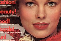 1974 Cosmopolitan, Vogue and other Magazine Covers 1974 / 1974