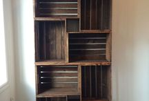 Dom - nábytok z reciklovaných vecí