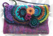 freeform knitting and crochet