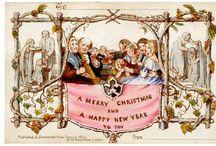 Kartki retro / Najpiękniejsze kartki retro - okolicznościowe i świąteczne