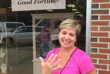 Wearing Good Fortune Jewelry / Here are photos of some friends wearing pre-owned jewelry purchased at our store!