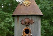 birdhouses & feeders / by Mary Fluaitt