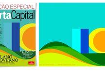 Capa Revista Carta Capital / Arte feita para edição especial da revista Carta Capital. / by Tom Veiga