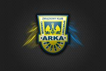 """""""Arka Gdynia"""" / Herby-Loga"""