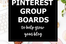 Pinterest Groups / Lists of Pinterest Groups / Group Boards to join