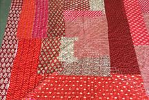 Upcycled light winter quilts