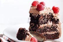 Chokoladekage med creme