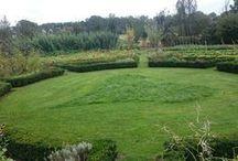 ommuurde tuin