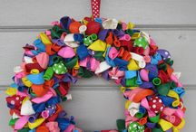 Balloon Wreaths