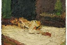 Frank Auerbach British Painter / Messy