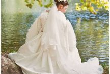Wedding gowns - historical costumes / this is part of my work, wedding gowns inspired by historical gowns