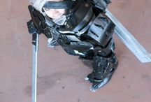 Raiden metal gear rising cosplay / Raiden metal gear rising cosplay