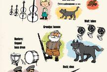 Peter og Ulven - instr