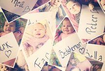 Barnedåb bordkort