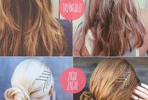 Peinados con pasadores