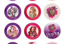 Ever After High Mania / My kids are big fans of this book and web series!