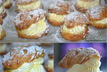 Cream Puffs - Eclairs