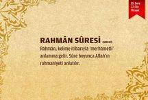 RAHMAN SURESİ