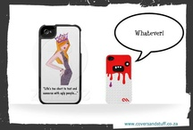 New_iPhoneCovers / follow these pins on facebook as well at https://www.facebook.com/#!/coversandstuff / by Alecia Booysen