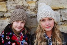 crochet hats / by Merav Manor