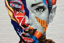 Graffiti/Street Art / Street Art from around the world! One of my biggest inspirations for WHITNEYMANNEY textile designs