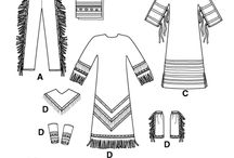 Native American clothing patterns