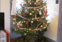 Blue Rock BnB Christmas / Decorated for the Belsnickle Christmas tour 2016