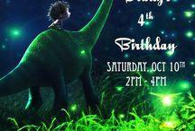 Festa in stile dinosauro