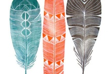 Feathers and inspiration
