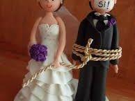 Muñecos para torta....