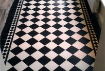 gulv i gangen