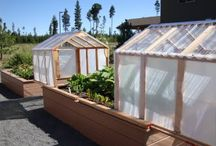 green house / raised bed cover