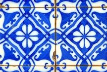 Tiles <3 / just a potpourri of blue patterns