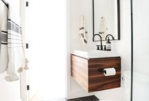 bathroom / modern bathroom / by Todd