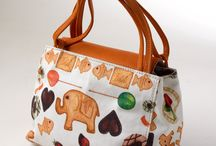 CALAMBOUR BAGS  / Calambour has created fantastic leather bags and fabrics with our design
