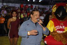 Famosos en el Domo / Acá encontraras imágenes de personas famosas que hacen acto de presencia en el Domo Bolivariano de Barquisimeto en los partidos de Guaros de Lara
