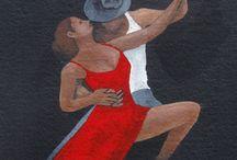Dancers Art