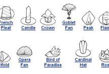Napkins and folding ideas