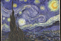 Vincent and other artists I love..... / Vincent Van Gogh.....My Favorite of all time...