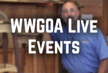 WWGOA Live Events / Miss one of our live streams? We've got them all here for you to re-watch anytime! / by WoodWorkers Guild of America