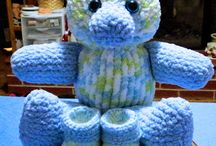 loom knitted animals