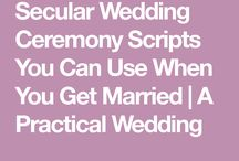 wedding script writing