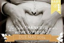Cute Pregnancy Announcements / How cute are these pregnancy announcements? What is your fave?  / by Amoralia Nursing Lingerie