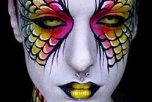 Bodypainting  / by The Makeup Nerd