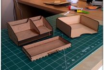 MDF Makes / Creations made from MDF kits.
