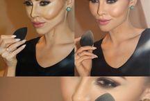 Make up...;)