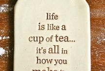 Tea/cup poems and quotes